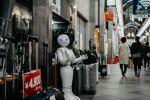 """Alt=""""Robot Standing In Store"""""""
