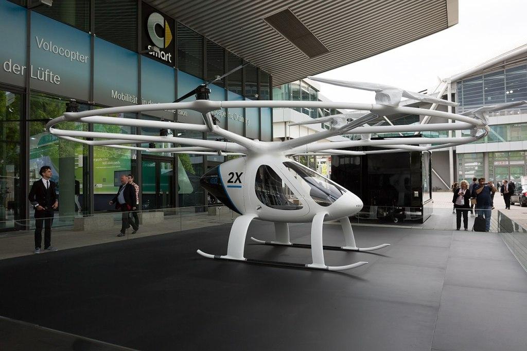 Velocopter Dubai IAA 2017